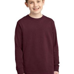 Youth Long Sleeve Core Cotton Tee Thumbnail