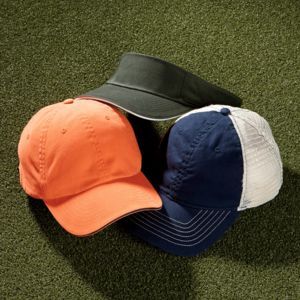 UltraClub Classic Cut Brushed Cotton Twill Unconstructed Sandwich Cap Thumbnail