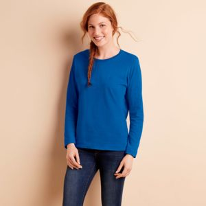 ® Heavy Cotton™ Ladies' Long-Sleeve T-Shirt Thumbnail