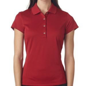 Ladies' ClimaLite® Textured Solid Polo Thumbnail