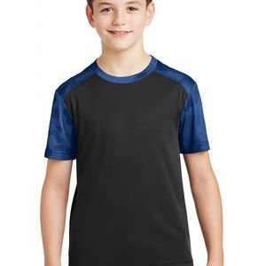 Youth CamoHex Colorblock Tee Thumbnail