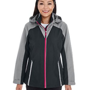 Ladies' Embark Interactive Colorblock Shell with Reflective Printed Panels Thumbnail