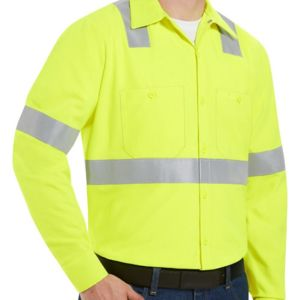 High Visibility Work Shirt Tall Sizes Thumbnail