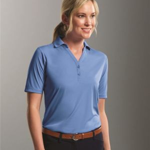 Women's Dynamic Y-Neck Polo Thumbnail