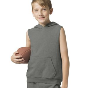 Youth Stadium Sleeveless Hoodie Thumbnail
